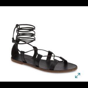 Madewell Boardwalk gladiator sandals